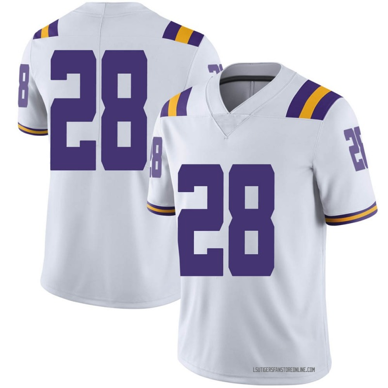 Limited Men's Lloyd Cole LSU Tigers White Football College Jersey